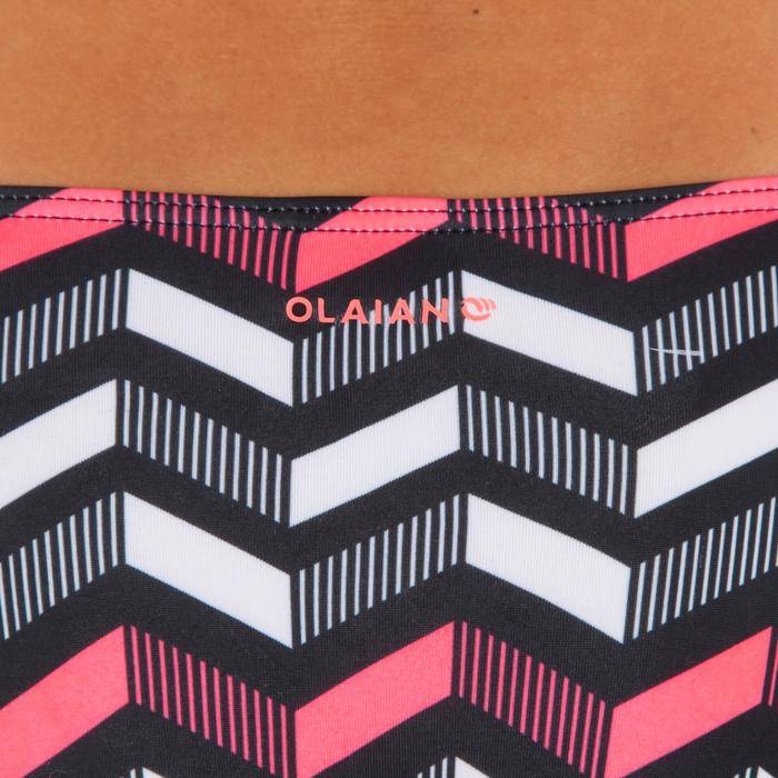 Dames bikinibroekje, gefronst opzij, voor surfen Niki Lara