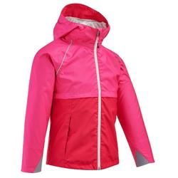 Hike 500 Children's Hiking Jacket - Pink