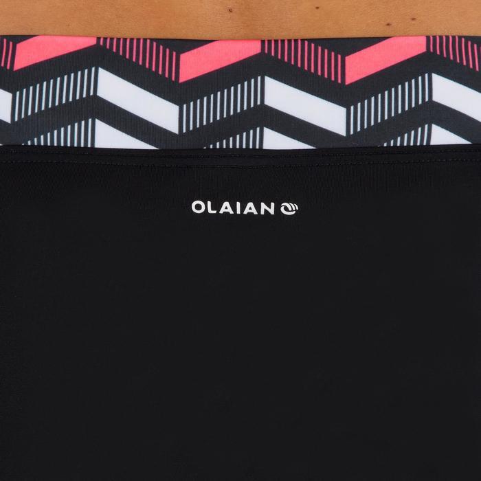 Bikini-Hose Nao Lara hoher Taillenbund mit Revers Damen