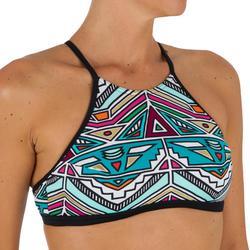 Bikini-Oberteil Bustier mit Formschalen Surfen Andrea Ncolo Damen