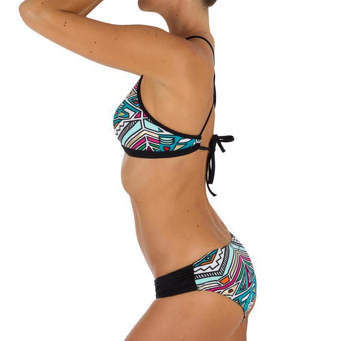 Bas de maillot de bain de surf femme plissée côté NIKI - 1305051