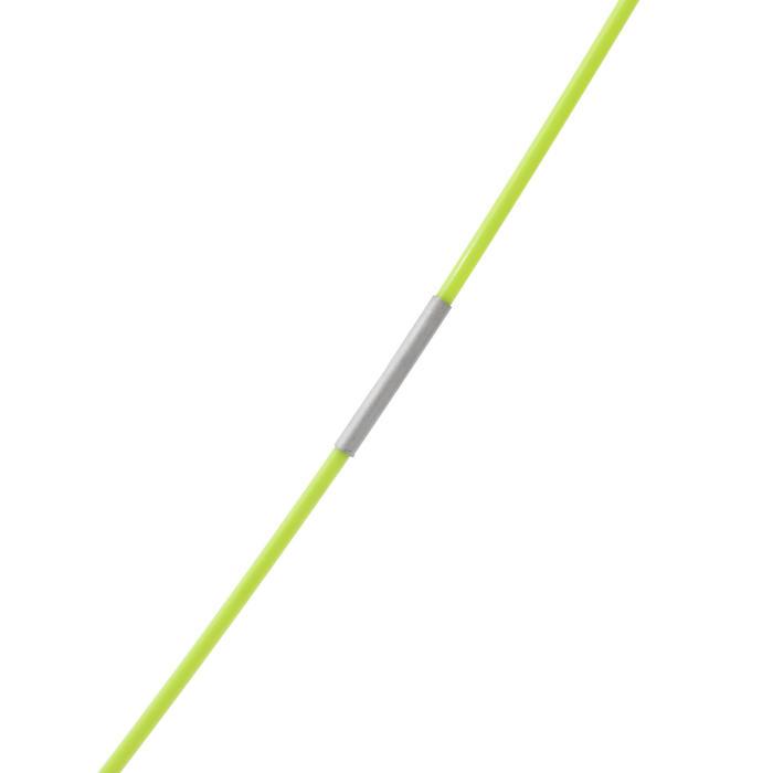 輕便可攜式羽球網DISCOVER-黃色