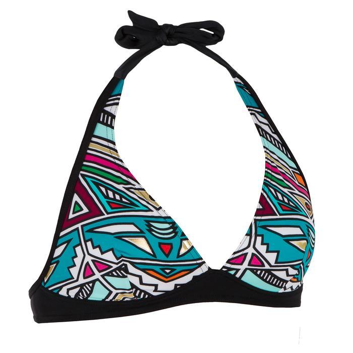 Haut de maillot de bain femme foulard avec fermoir dos BAHIA - 1305066