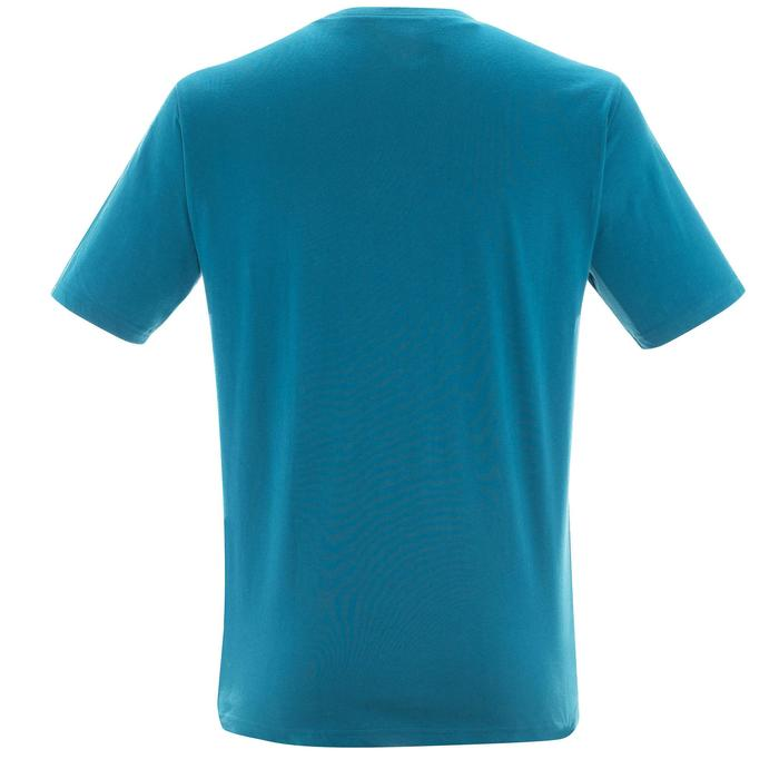 Tee shirt randonnée nature homme NH500 chiné - 1305069