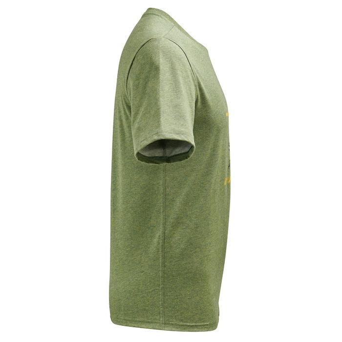 Tee shirt randonnée nature homme NH500 chiné - 1305072