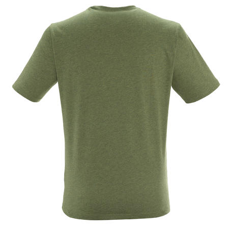 NH500 Men's Country Walking T-shirt - Khaki