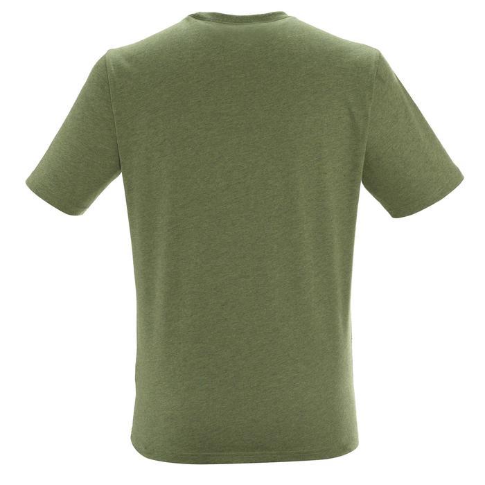 Tee shirt randonnée nature homme NH500 chiné - 1305083