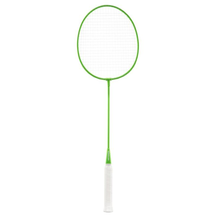Set net / 2 rackets Easy Set Discover geel