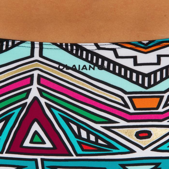 Bas de maillot de bain de surf femme plissée côté NIKI - 1305122