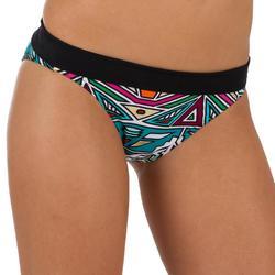 Bikinibroekje met hoge taille en omslag Nao Lara