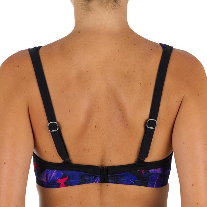 Minimizer-bikinitop met beugels voor dames Eden Psycho