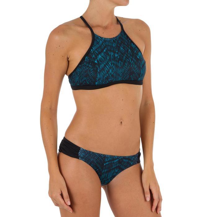 Bas de maillot de bain de surf femme plissée côté NIKI - 1305170