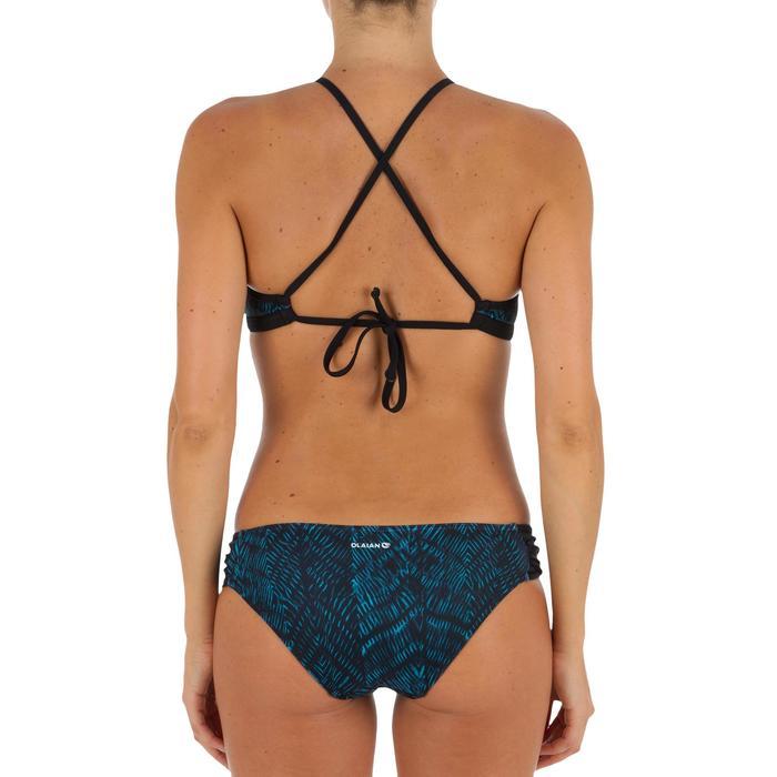 Bas de maillot de bain de surf femme plissée côté NIKI - 1305171