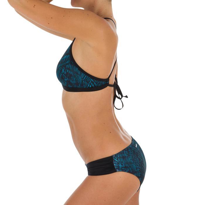 Bas de maillot de bain de surf femme plissée côté NIKI - 1305172