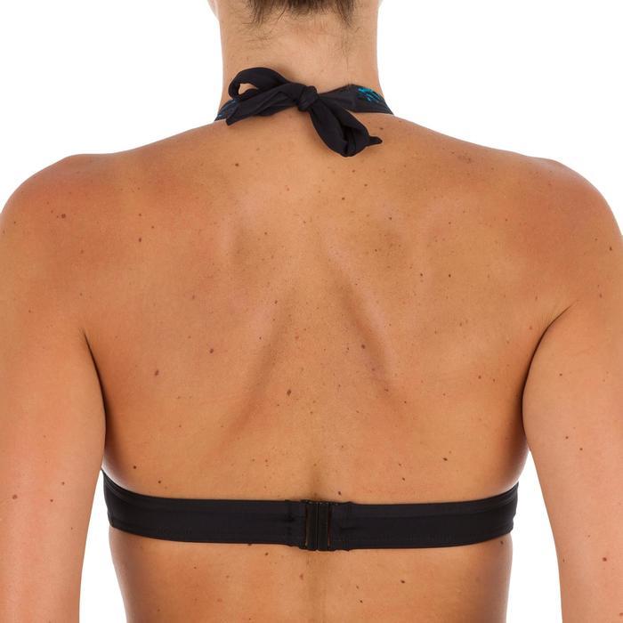 Sujetador de bikini mujer forma fular con cierre en la espalda BAHIA SHIBO AZUL