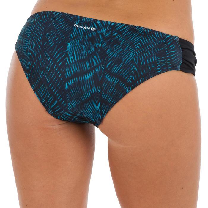 Bas de maillot de bain de surf femme plissée côté NIKI - 1305184