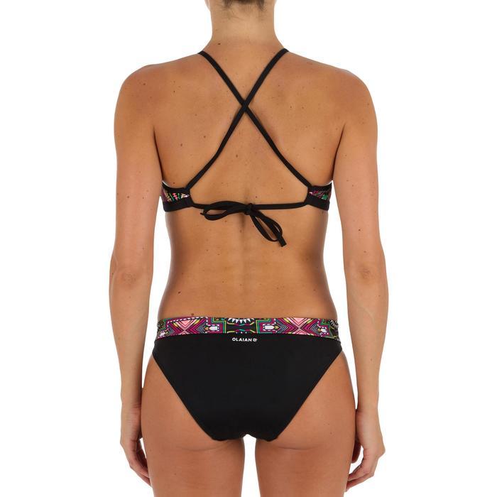 Bikini-Oberteil Bustier Andrea Longi mit Formschalen Surfen Damen schwarz