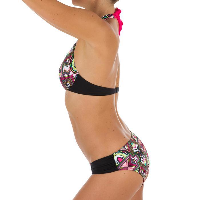 Bas de maillot de bain de surf femme plissée côté NIKI - 1305235