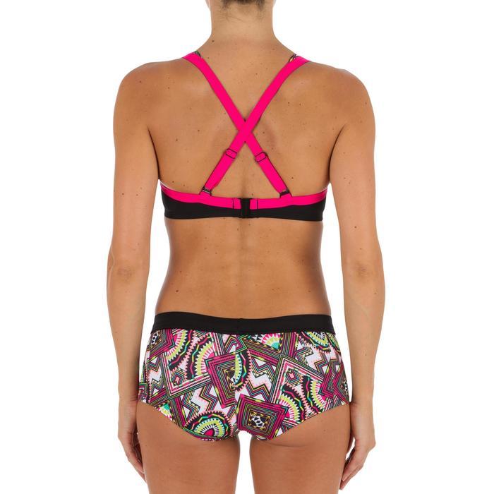 Minimizer-bikinitop met beugels voor dames Eden Longi zwart