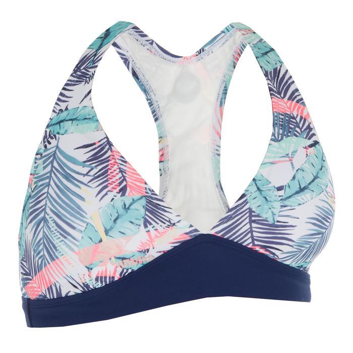 Haut de maillot de bain femme foulard surf confirmé BALI PALM - 1305277