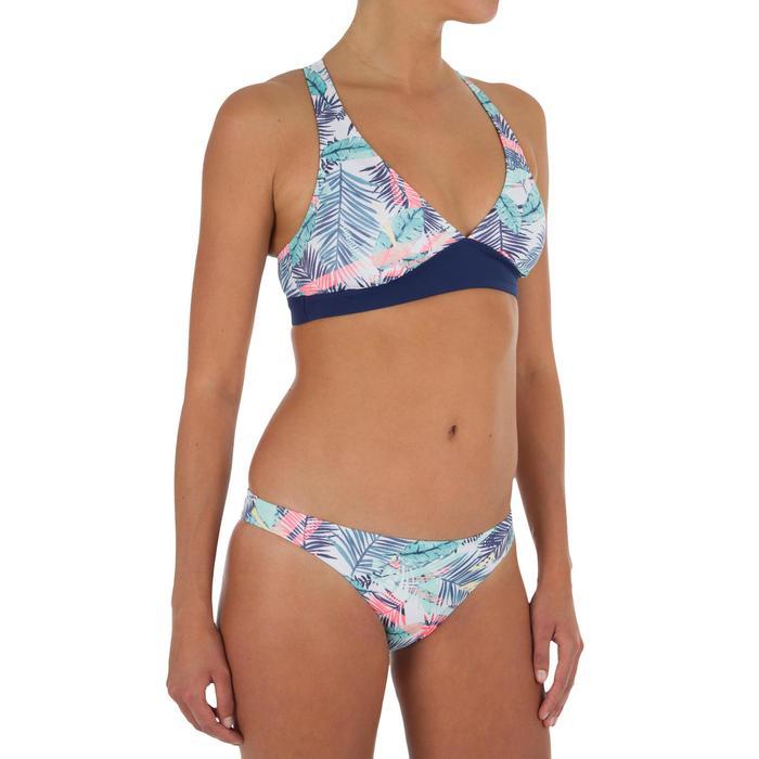 Bikini-Hose Bali Palm hoher Beinausschnitt Surfen Damen