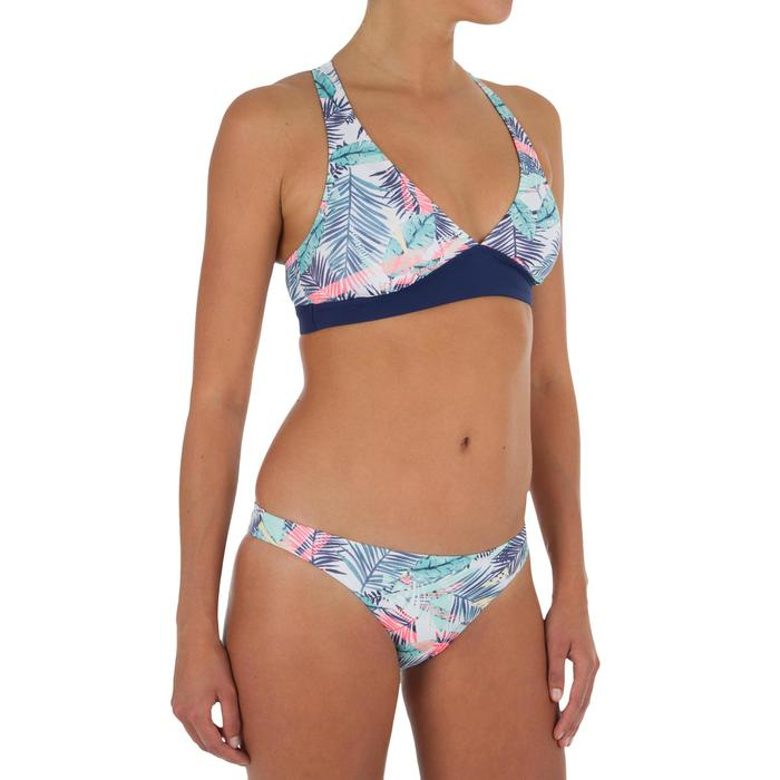 Hoog uitgesneden bikinibroekje voor surfen Bali Palm