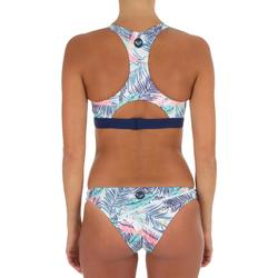 Bas de maillot de bain femme échancrée surf BALI PALM
