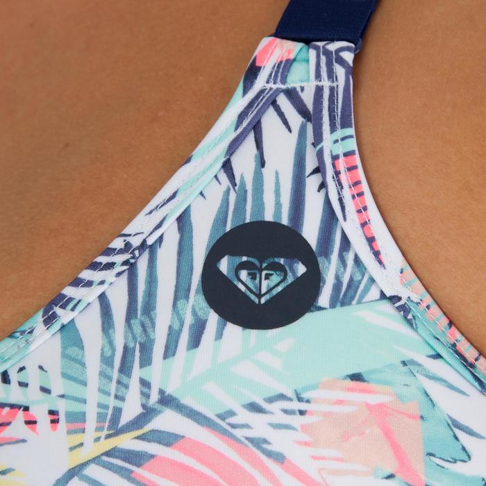 Haut de Maillot de bain femme brassière surf confirmé BALI PALM - 1305288