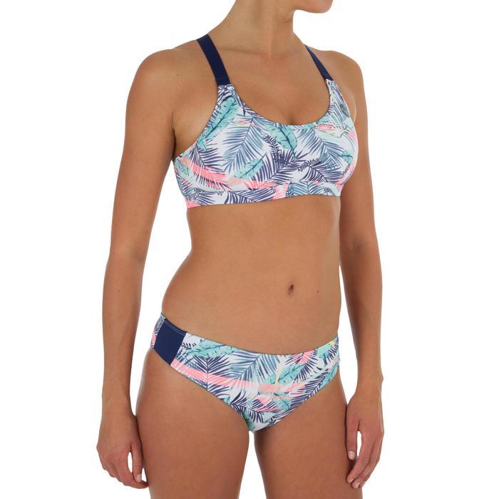 Dames bikinitop zonder sluiting voor surfen Bali Palm - 1305290