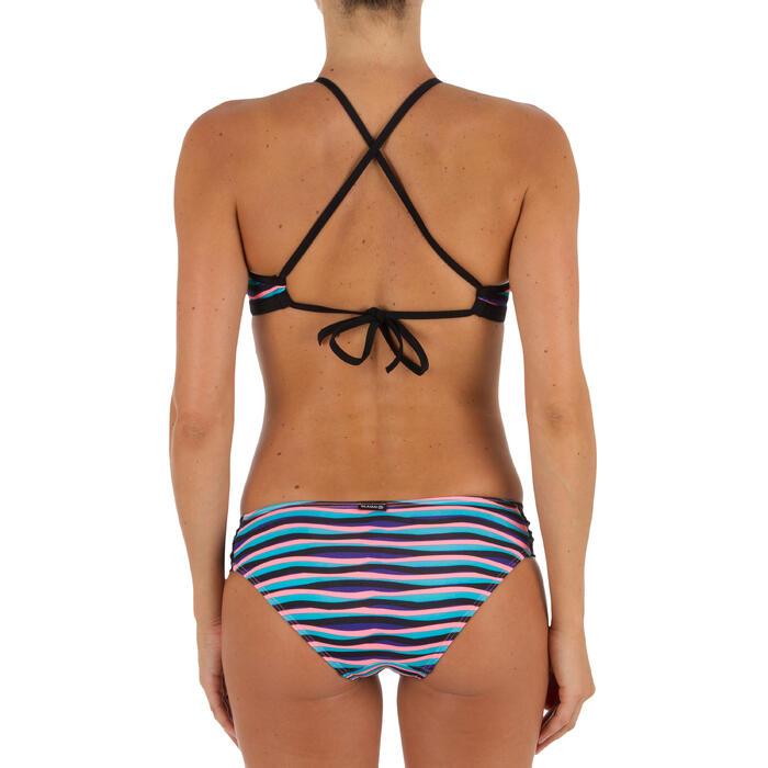 Haut de maillot de bain femme brassière de surf avec coques ANDREA blue