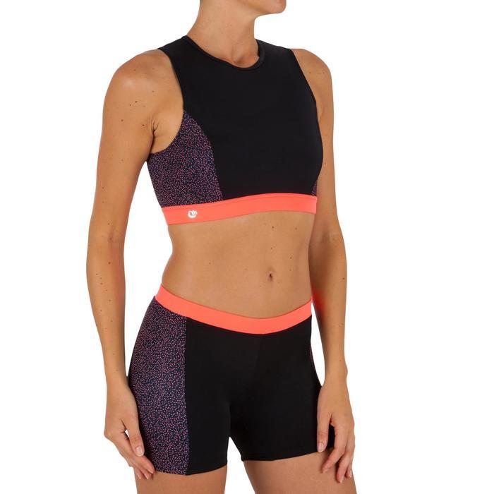 Dames surftop met back zip Carla Shine - 1305388