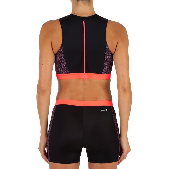 Dames surftop met back zip Carla Shine - 1305389