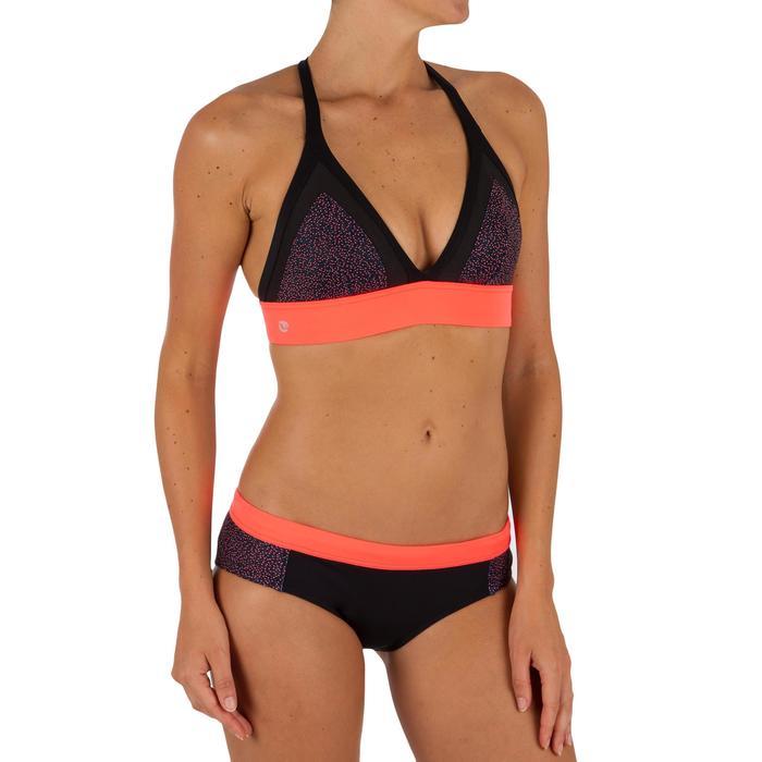 Dames bikinibroekje met aantrekkoordje voor surfen Valy Shine