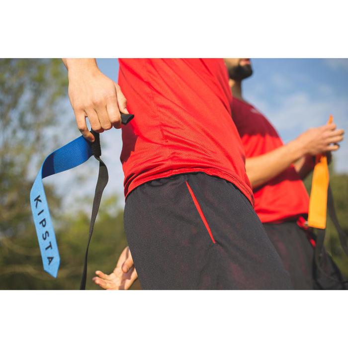 Set flag football AF 100 voor volwassenen blauw