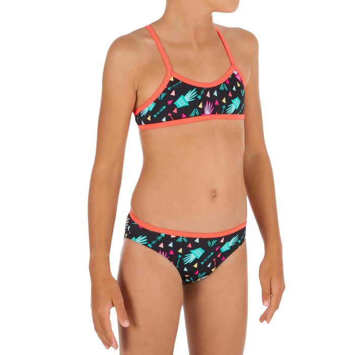 Maillot de bain 2 pièces fille BRASSIERE DE SURF BONI CACTUS - 1305607