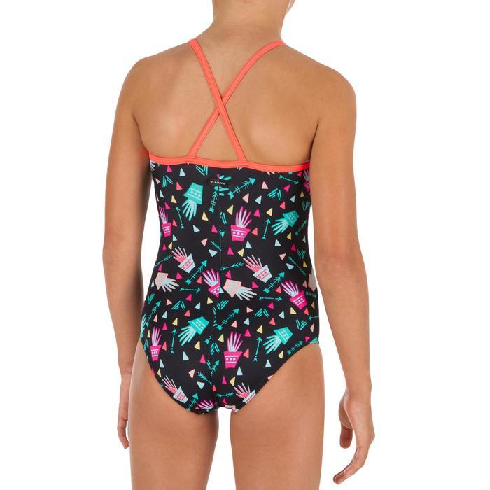 Bañador de 1 pieza para niña con espalda cruzada HALOA CACTUS