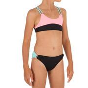 Bikini - top de surf para niña BIANCA COLOR BLOCK NEGRO ORIGAMI
