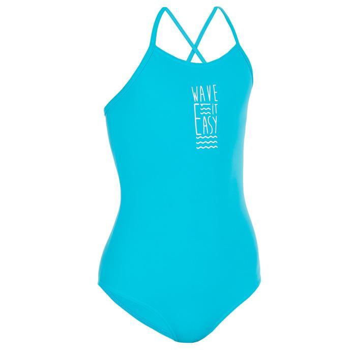 Badeanzug Bustier Hanalei Wave It Easy Jugendliche blau