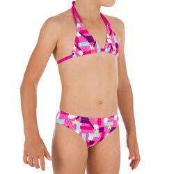 Triangelbikini voor meisjes Taloo Lagoon roze