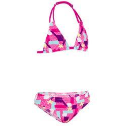Bikini niña TRIÁNGULOS TALOO LAGOON rosa