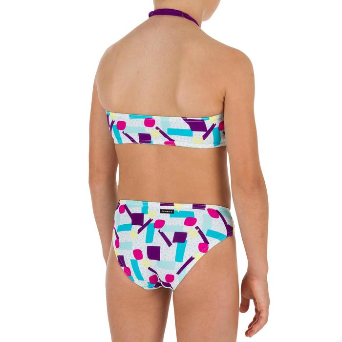 Bikini-Set Bandeau Lali Lagoon Mädchen blau/grün