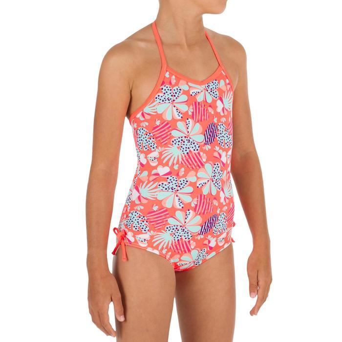 Badeanzug Neckholder Hanna Happy Mädchen rosa