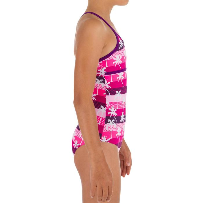 Badeanzug Haloa Palmy Hollywood gekreuzte Rückenträger Mädchen rosa