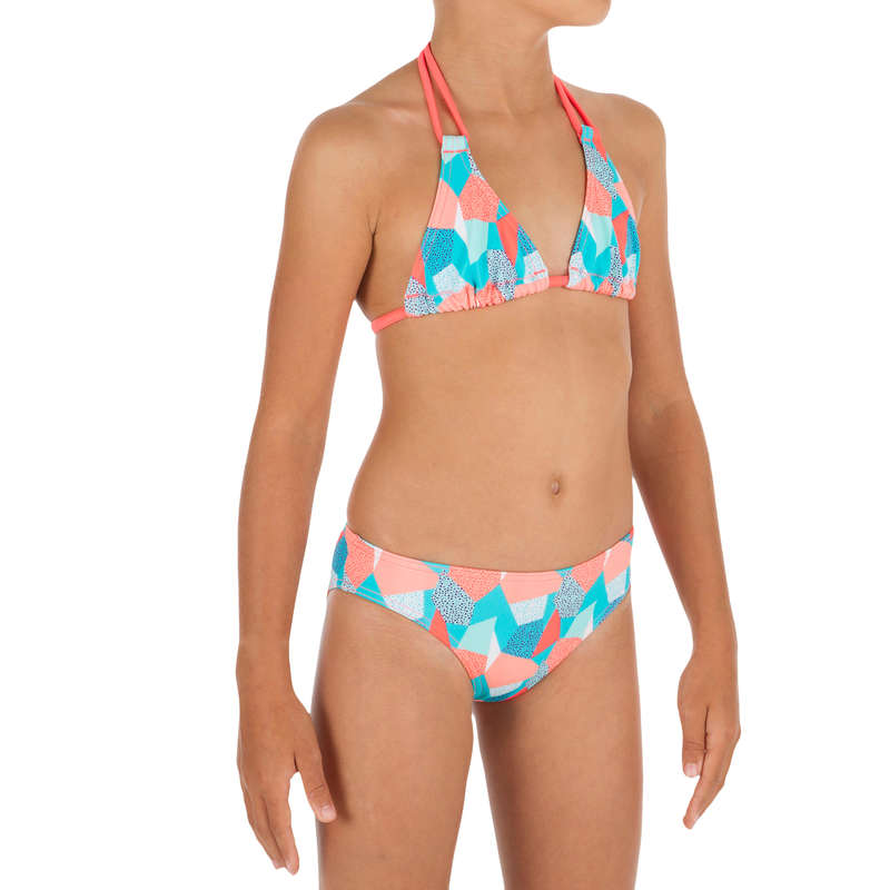 GIRL'S SWIMSUITS Surf - Taloo 2P Triangle - Cali Blue OLAIAN - Surf Clothing