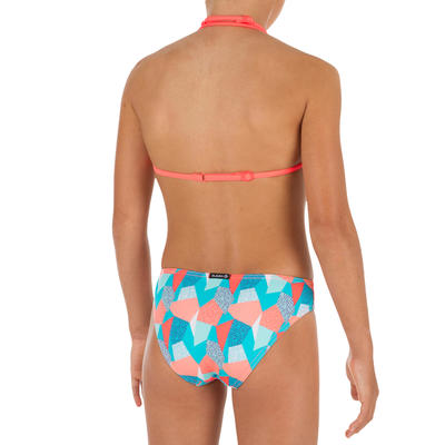 Taloo Girls' Two-Piece Triangle Bikini Swimsuit - Cali Blue