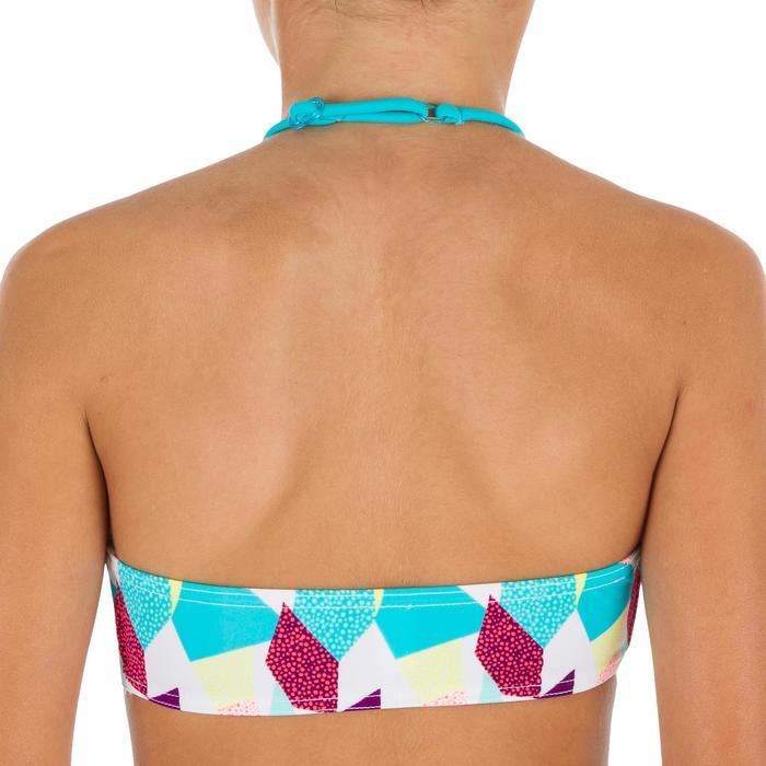 Bikini-Set Bandeau Lali Cali Mädchen weiß