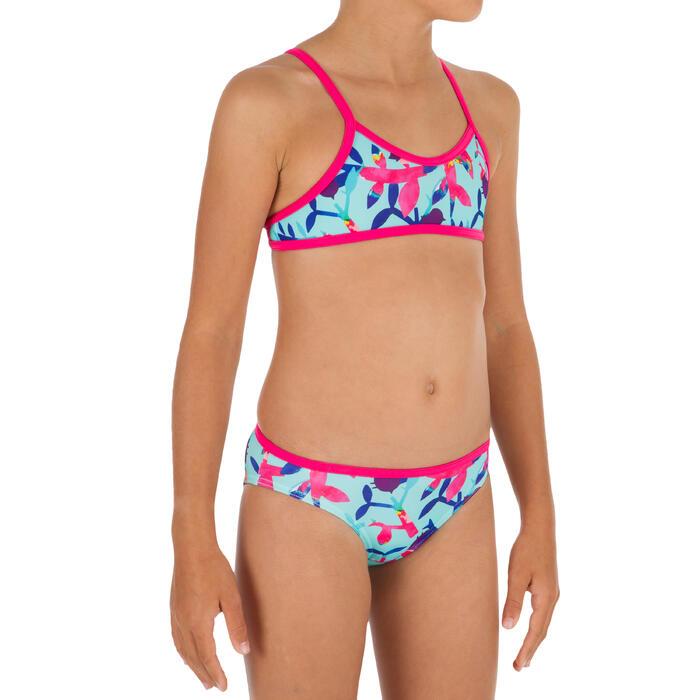 Maillot de bain 2 pièces fille BRASSIERE DE SURF BONI CACTUS - 1305823