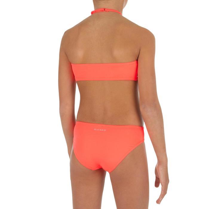 Bikini-Set Bandeau Long Lou Malou Corail Mädchen
