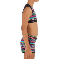 Meisjes surftop met back zip Bella Naimi