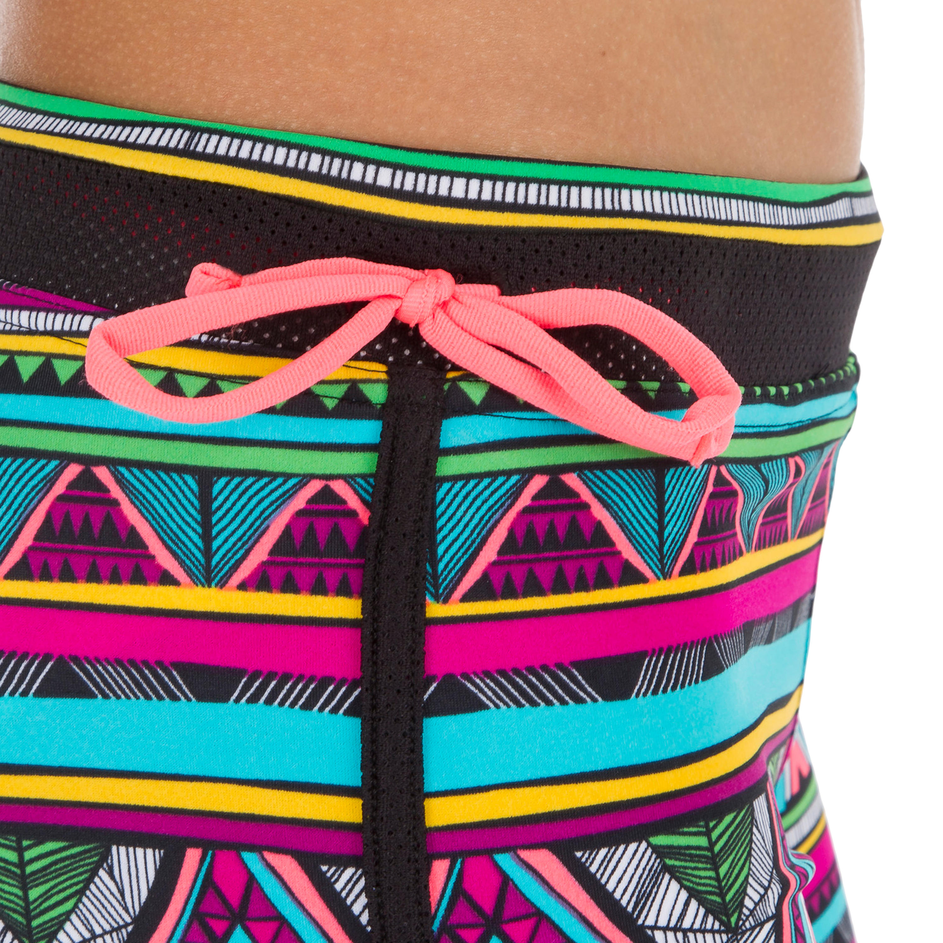 Mila Girls' Surfing Shorty Surf Shorts with Built-in Briefs - Naimi